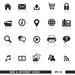 Web And Internet Icons