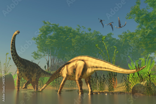 Spinophorosaurus in Swamp