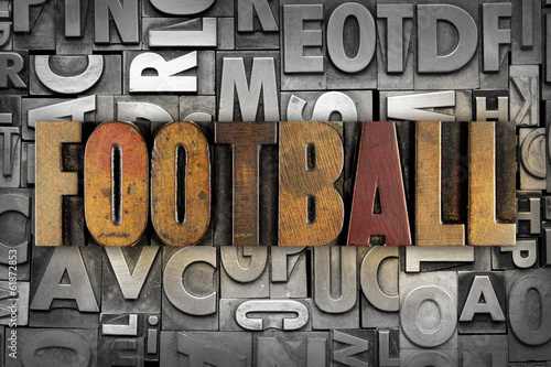 canvas print picture Football
