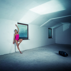 Dancer in the attic
