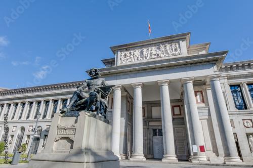 Aluminium Madrid Prado Museum in Madrid, Spain