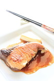 Japanese cuisine, Teriyaki of Yellow tail