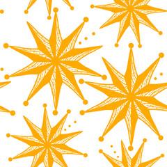 abstract seamless stars