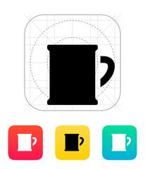 Beer mug icon.