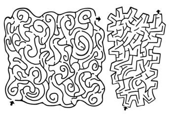 Couple maze