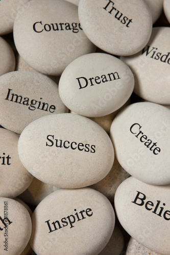 canvas print picture Inspirational stones