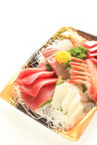 Japanese cuisine, freshness sashimi raw fish