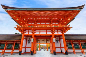 Main gate at Fushimi Inari-taisha in Kyoto