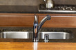 Chrome Kitchen Sink Faucet