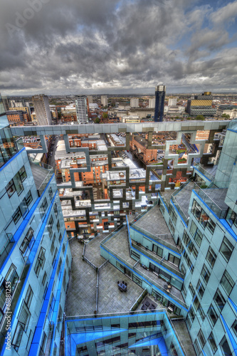 Unusual View of Birmingham City