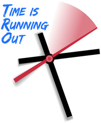 Limited time running out clock