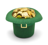 Shamrock Gold Leprechuan Hat