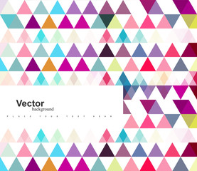 Vector geometric colorful pattern with mosaic shapes background