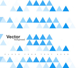 abstract blue geometry colorful pattern texture Vector illustrat