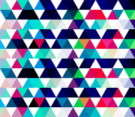 Abstract geometrical colorful texture background with triangles