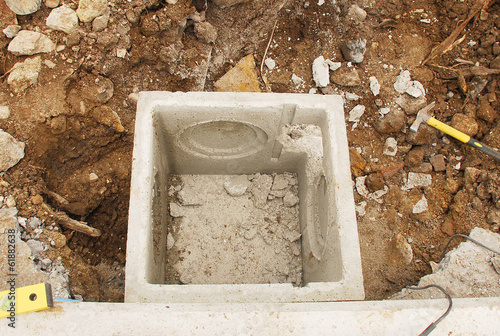 Sewage Inspection Chamber