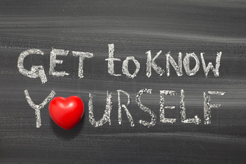 get to know yourself