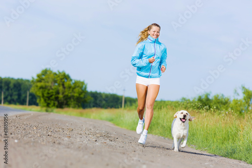 Running outdoor