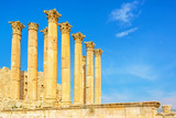 The Temple of Artemis in the ancient Jordanian city of Jerash