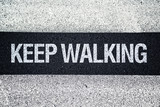 Keep walking on Pedestrian crossing
