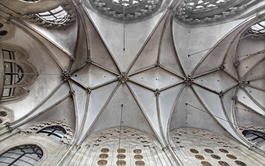 Veinna - Gothic ceiling in church of the Teutonic Order