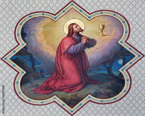 Veinna - Christs prayer in Gethsemane in Carmelites church