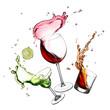 splashing alcohols