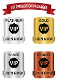 VIP promotion package buttons