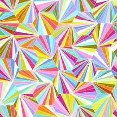 geometric colorful seamless vector background