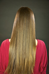 Beautiful long healthy hair
