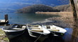barche al lago di Piano (Val Menaggio)