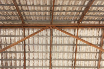 Roof structure and insulation.