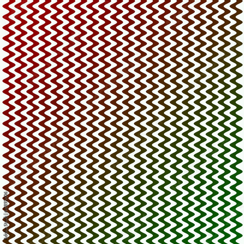 Green and Red Line Pattern
