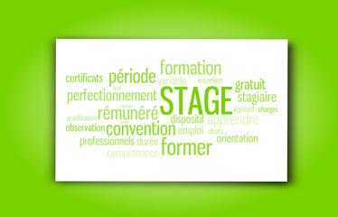 Etiquette : Stage