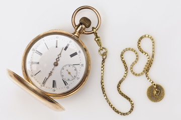 Antique Golden Pocket Watch