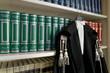 Leinwanddruck Bild - toga avvocato