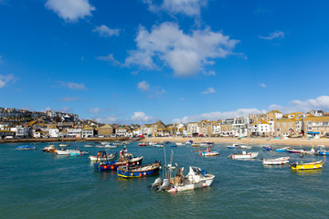 St Ives harbour Cornwall England