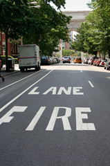 Greenwich fire lane