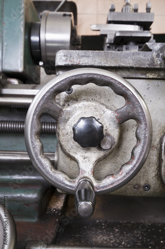 Machine workshop tool portrait