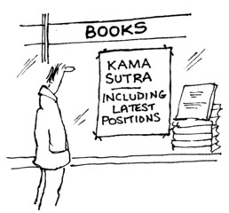 Kama Sutra has latest positions