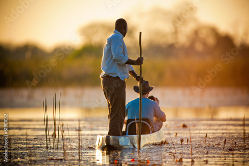 Staande foto Afrika Evening in The Reeds