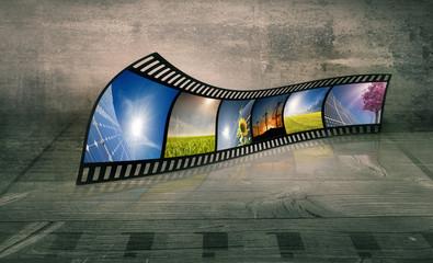 Filmstreifen und Energie