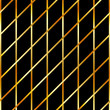Metallic tile background with diagonal stripes