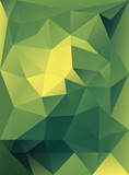 Abstract cover template with triangular background