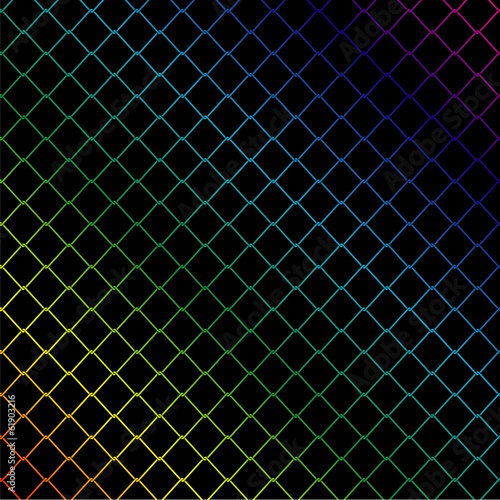 Colorful string background for web