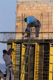 Bau eines Wohnhauses
