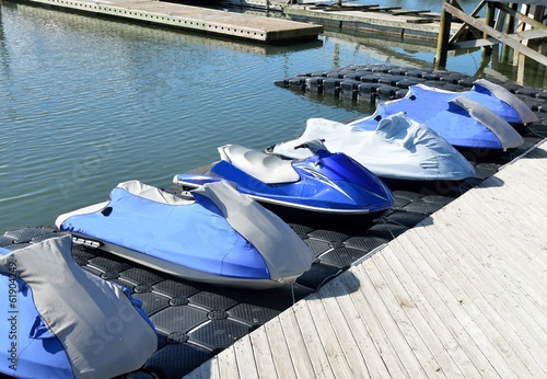 Staande foto Water Motorsp. Jet Ski for rent