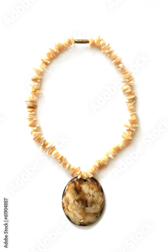 pendant isolated on white background