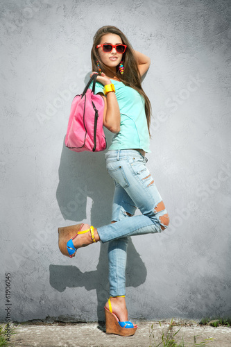 Stylish girl