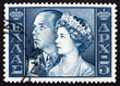 Postage stamp Greece 1957 King Paul and Queen Frederica
